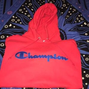 Champion | Red eco hoodie